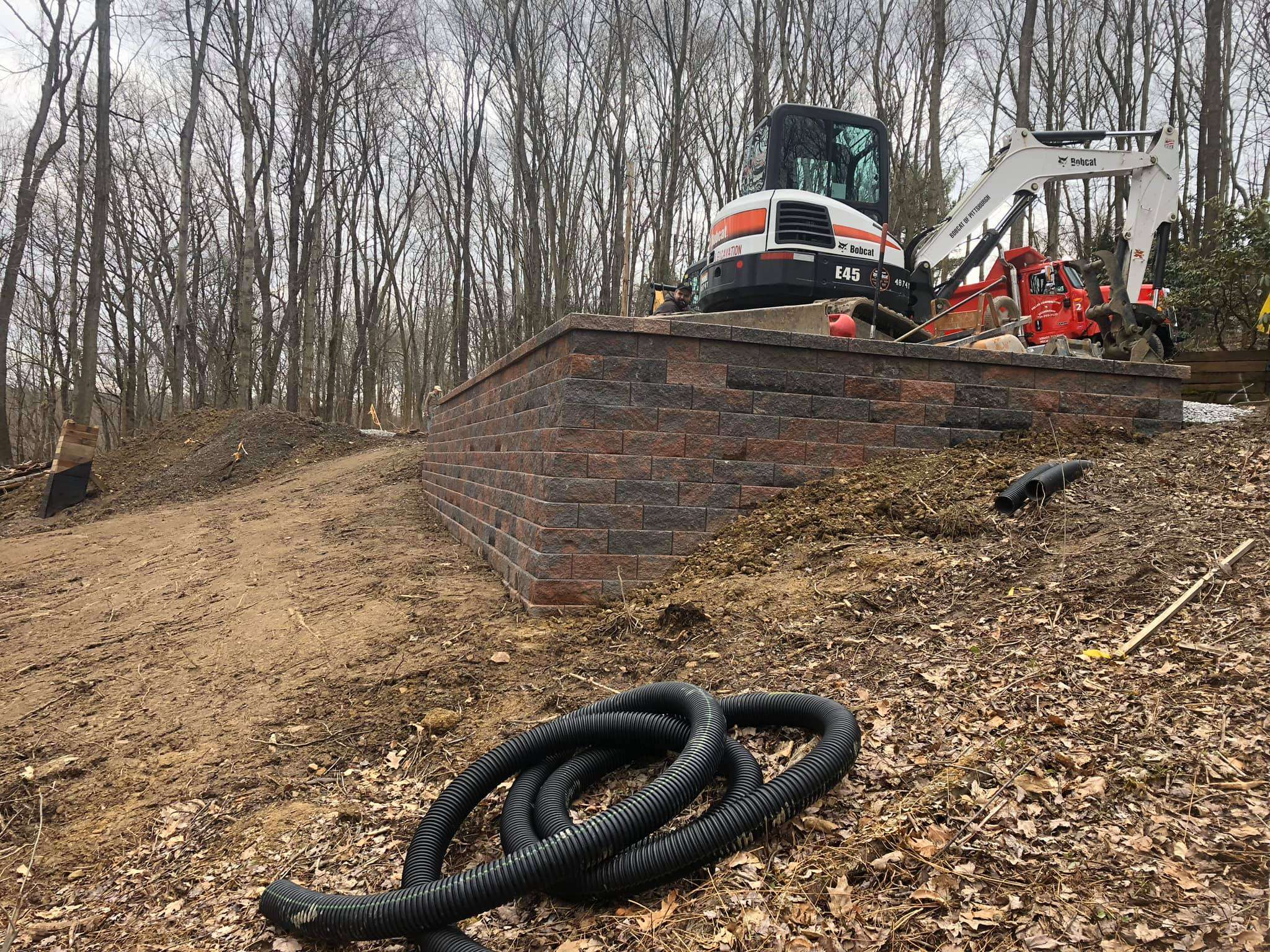 excavation contractor cranberry township pa